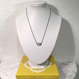 KENDRA SCOTT 'Elisa' Necklace, Bass/Agate
